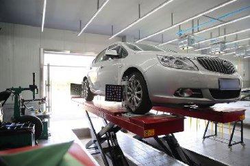 汽车改装实训室