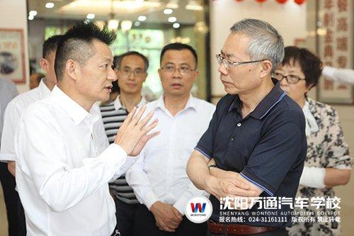 国家人社部副部长肯定新华教育集团办学实力